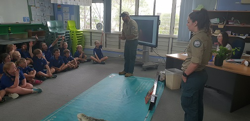 Crocodile Education Visit