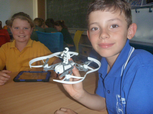Coding with mini drones